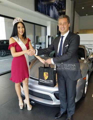 Latest Visit To Porsche Of Downtown La Miss Filipina International